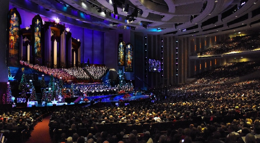 Motab Christmas 2020 A Tradition Continues As Christmas with the Mormon Tabernacle