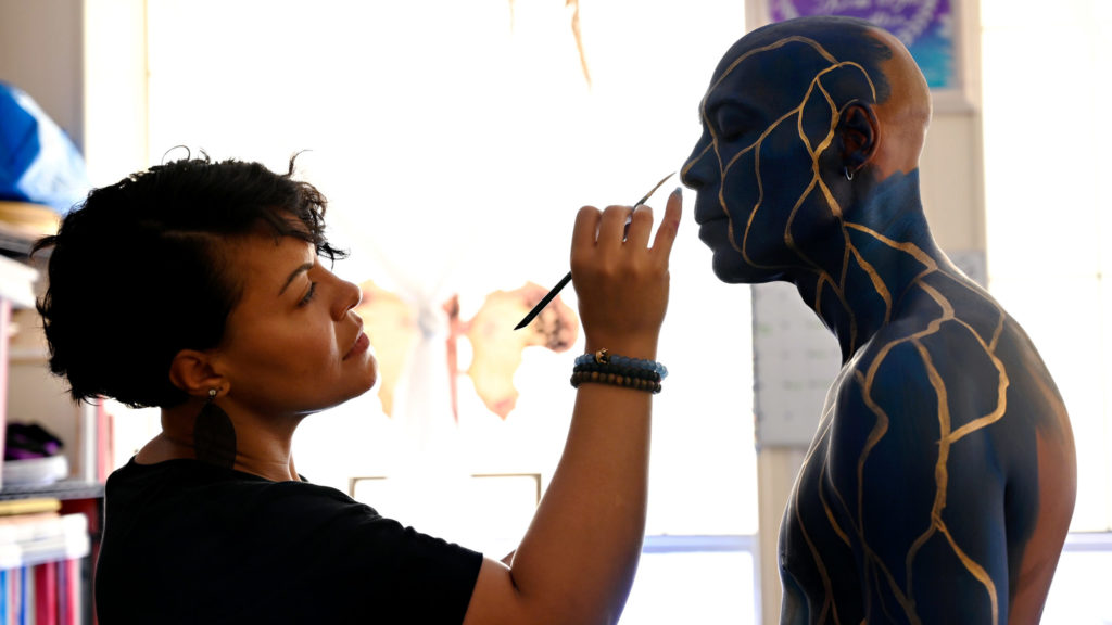 Alicia Cobb, Body Painter and Fine Artist at Nest Arts Factory in Bridgeport